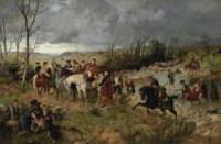 Halt of Prince Charles Edward on the Banks of the Nairne