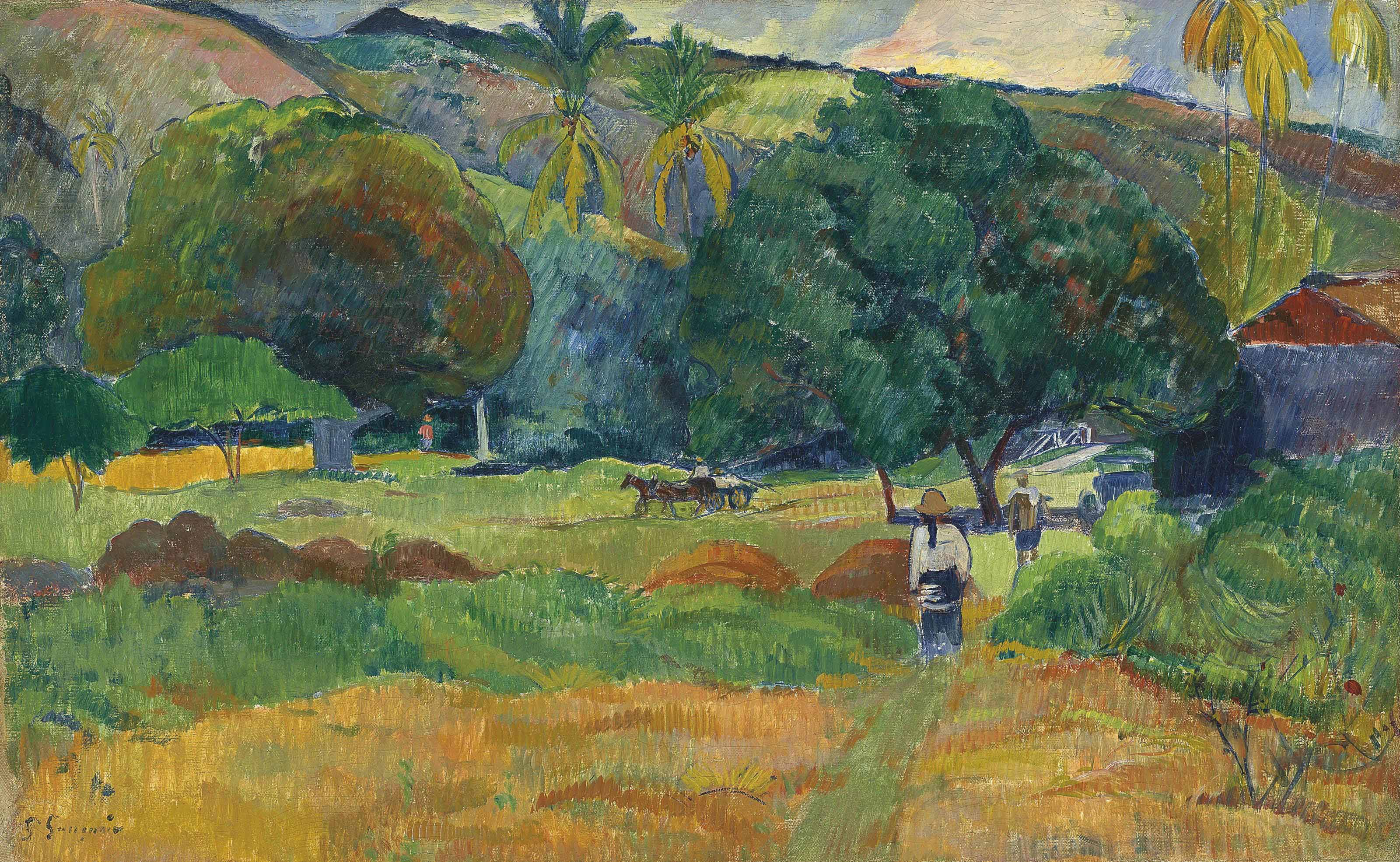 Heirs seek to avoid legal battle over Gauguin painting ... |Gauguin Paintings