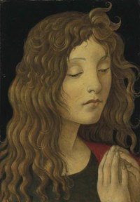 Saint John the Baptist - a fragment