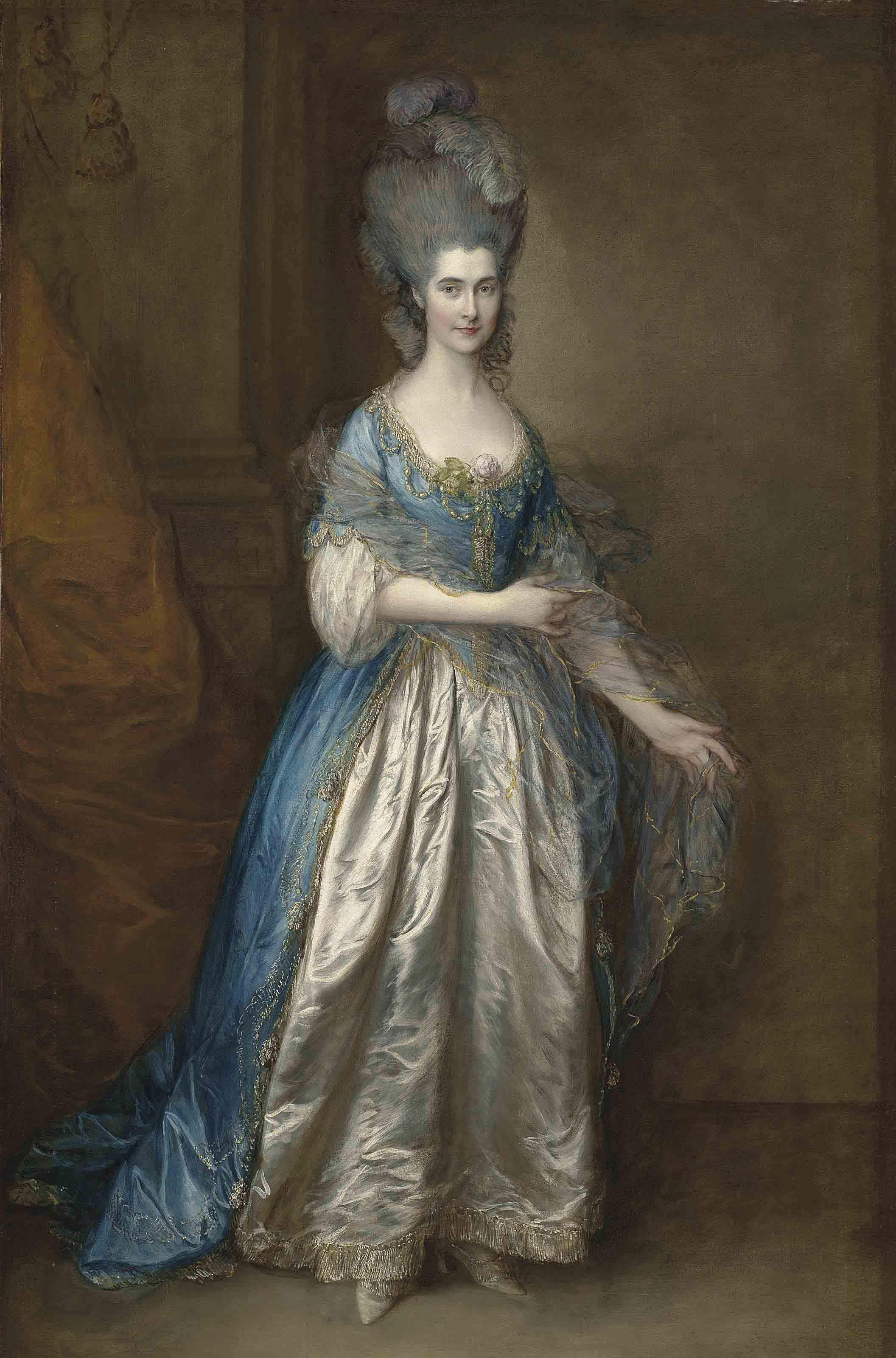 Audio: Thomas Gainsborough's Portrait of Mrs. William Villebois