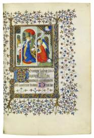 BOOK OF HOURS, use of Soissons