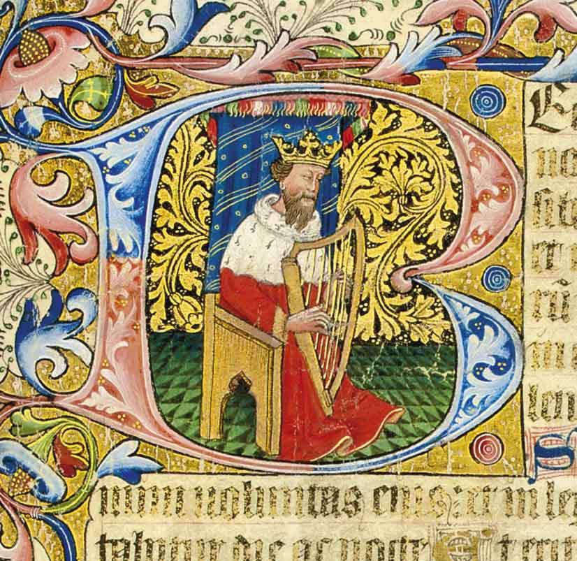 THE RICE PSALTER, use of Sarum, in Latin, ILLUMINATED MANUSCRIPT ON VELLUM