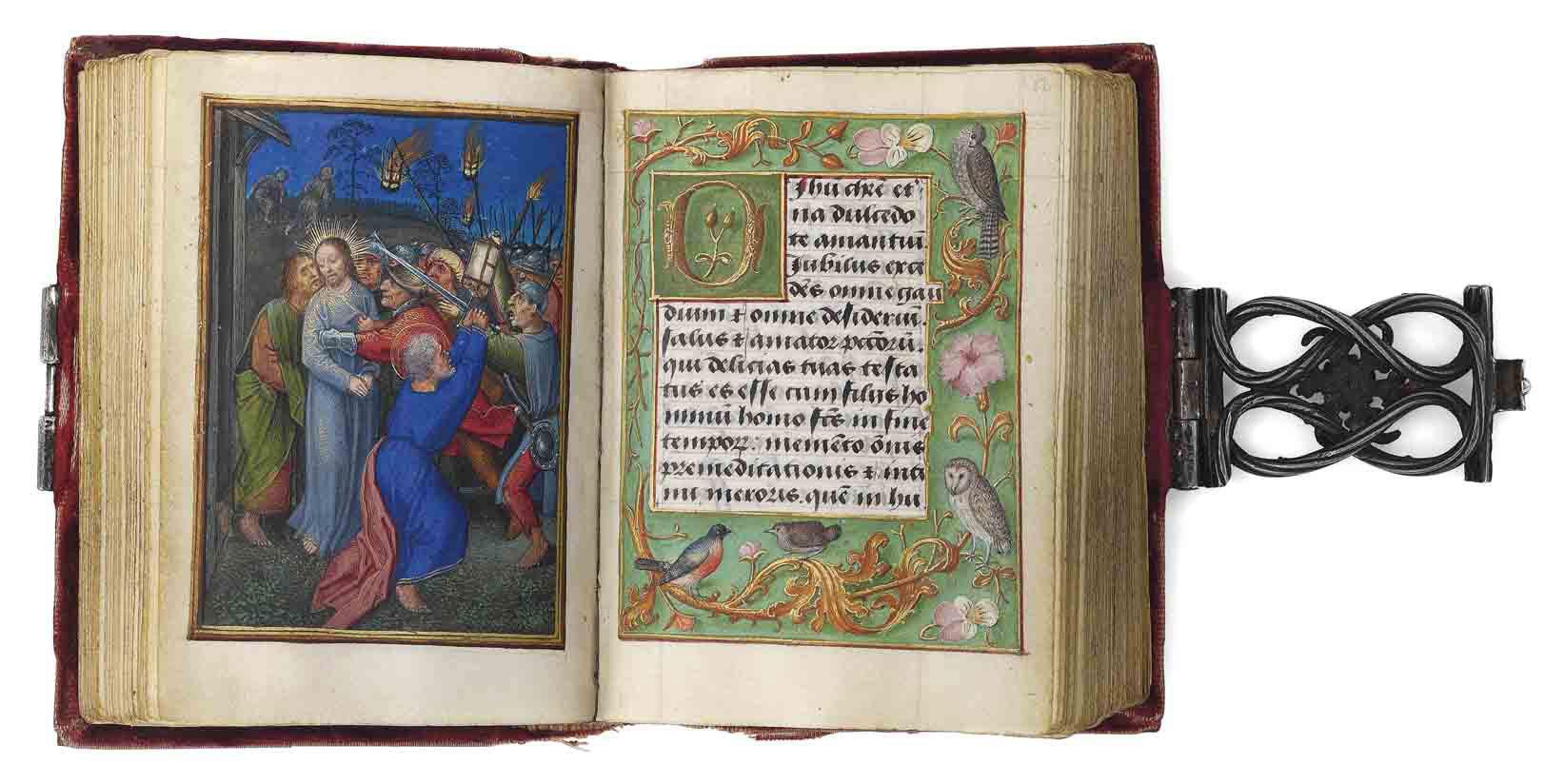 THE IMHOF PRAYERBOOK, illuminated by SIMON BENING, in Latin and Dutch, ILLUMINATED MANUSCRIPT ON VELLUM