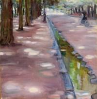 Avenue in the Bois de Boulogne