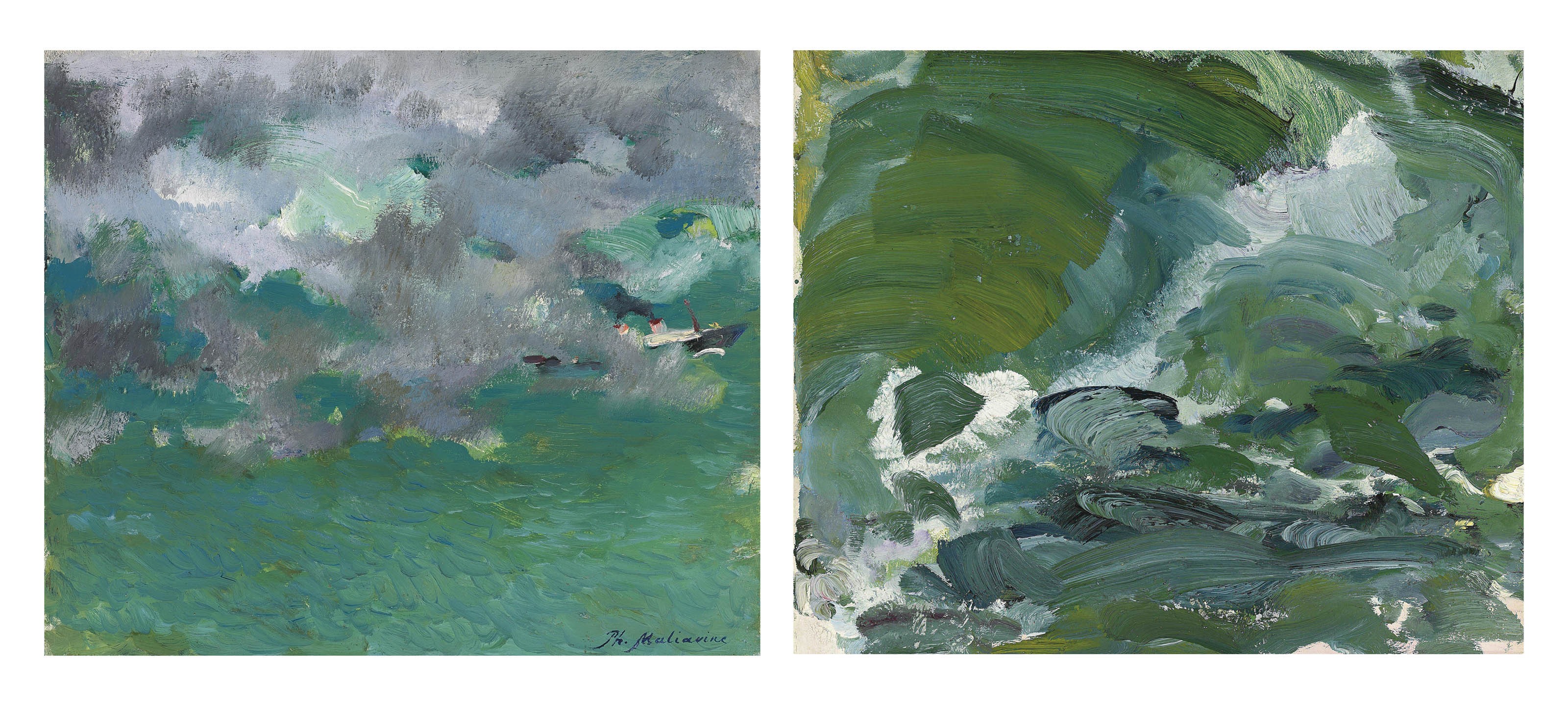 Two studies of waves