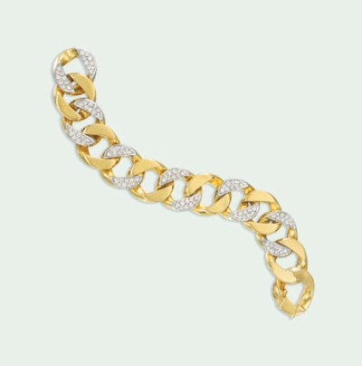 A DIAMOND-SET BRACELET, BY CAR