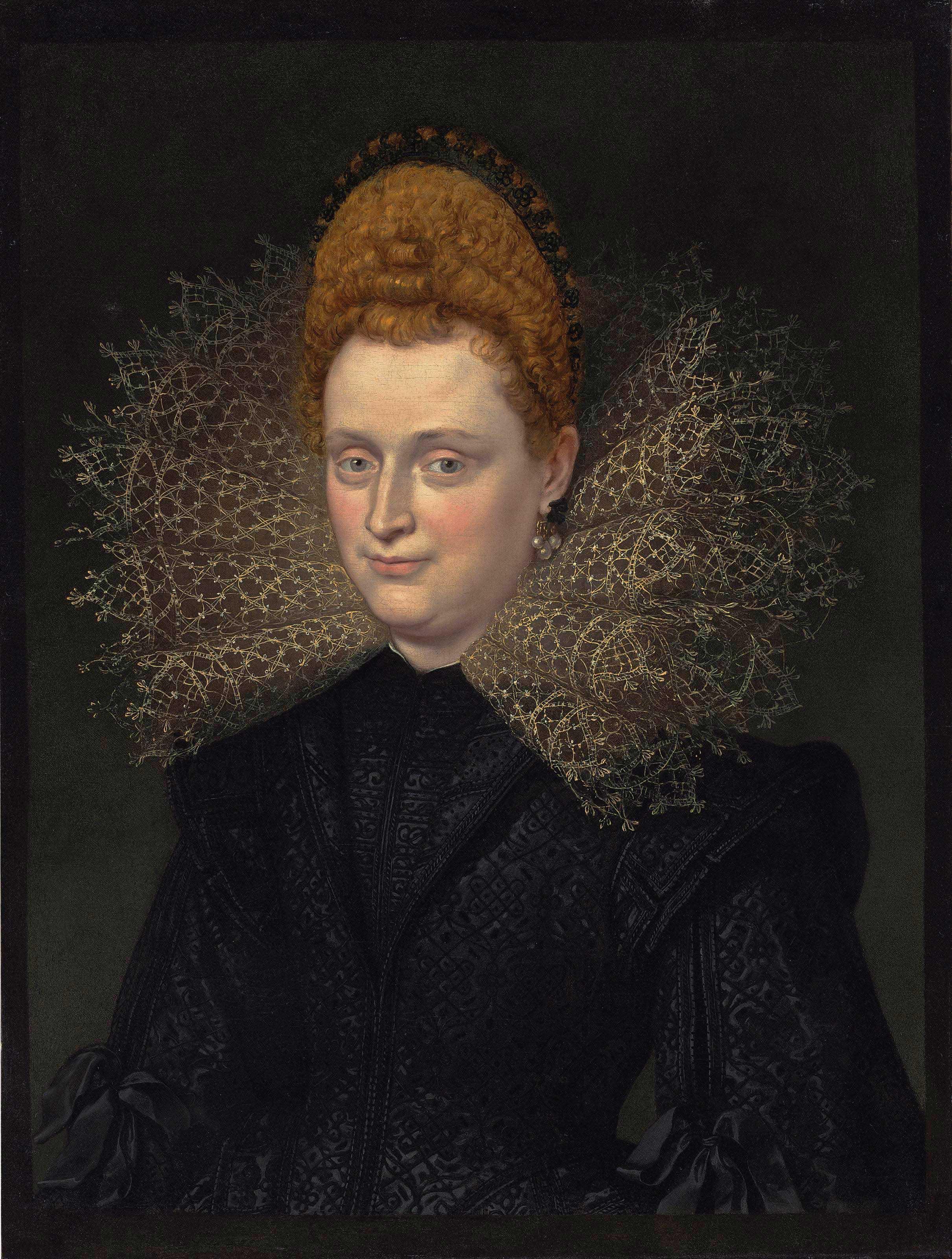 Portrait Of 17 Year Old Teenage Boy With Alternative Hair: Sir Peter Paul Rubens (Siegen 1577-1640 Antwerp