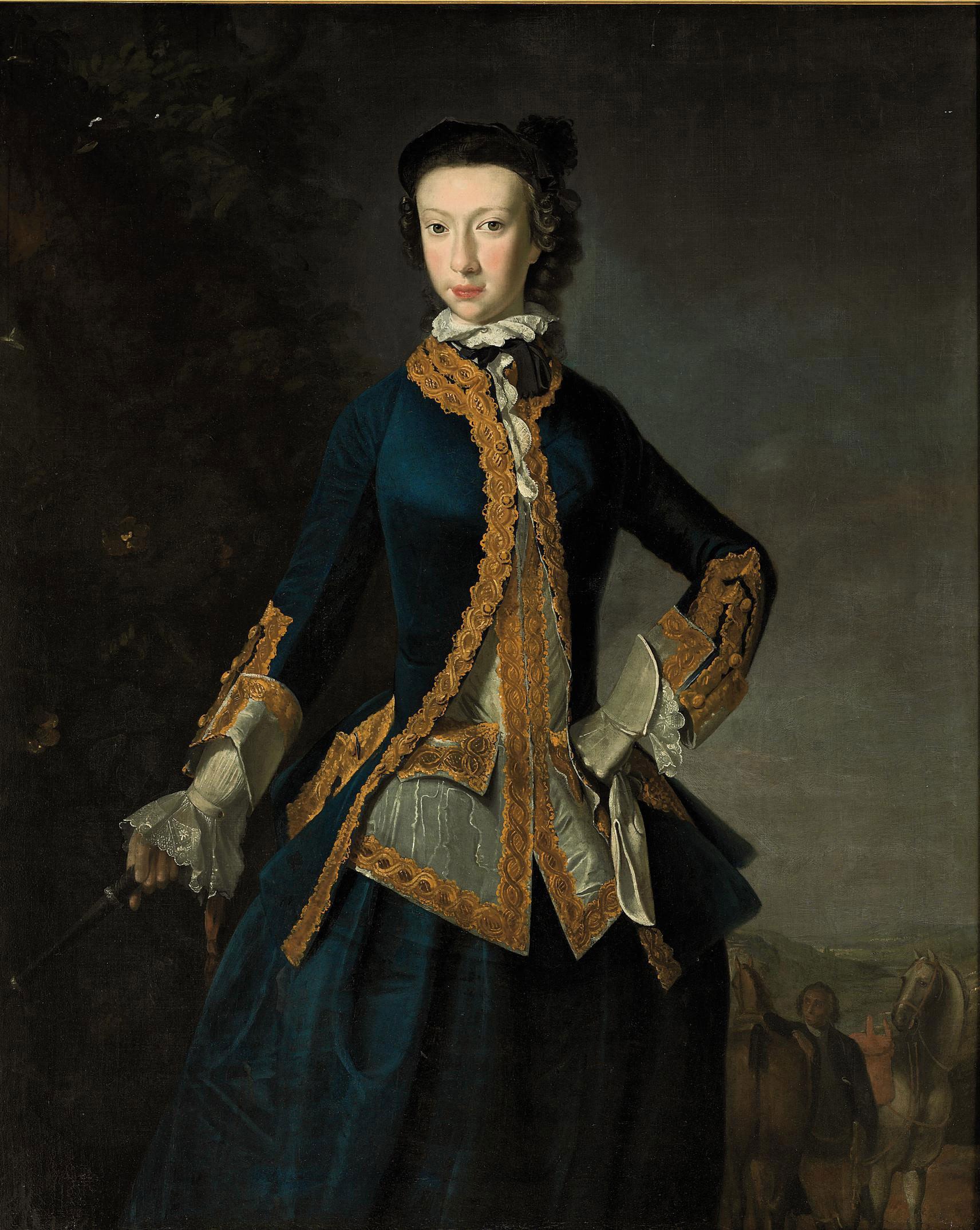R[obert?] Harvie (?Scottish, active 1751-1763)