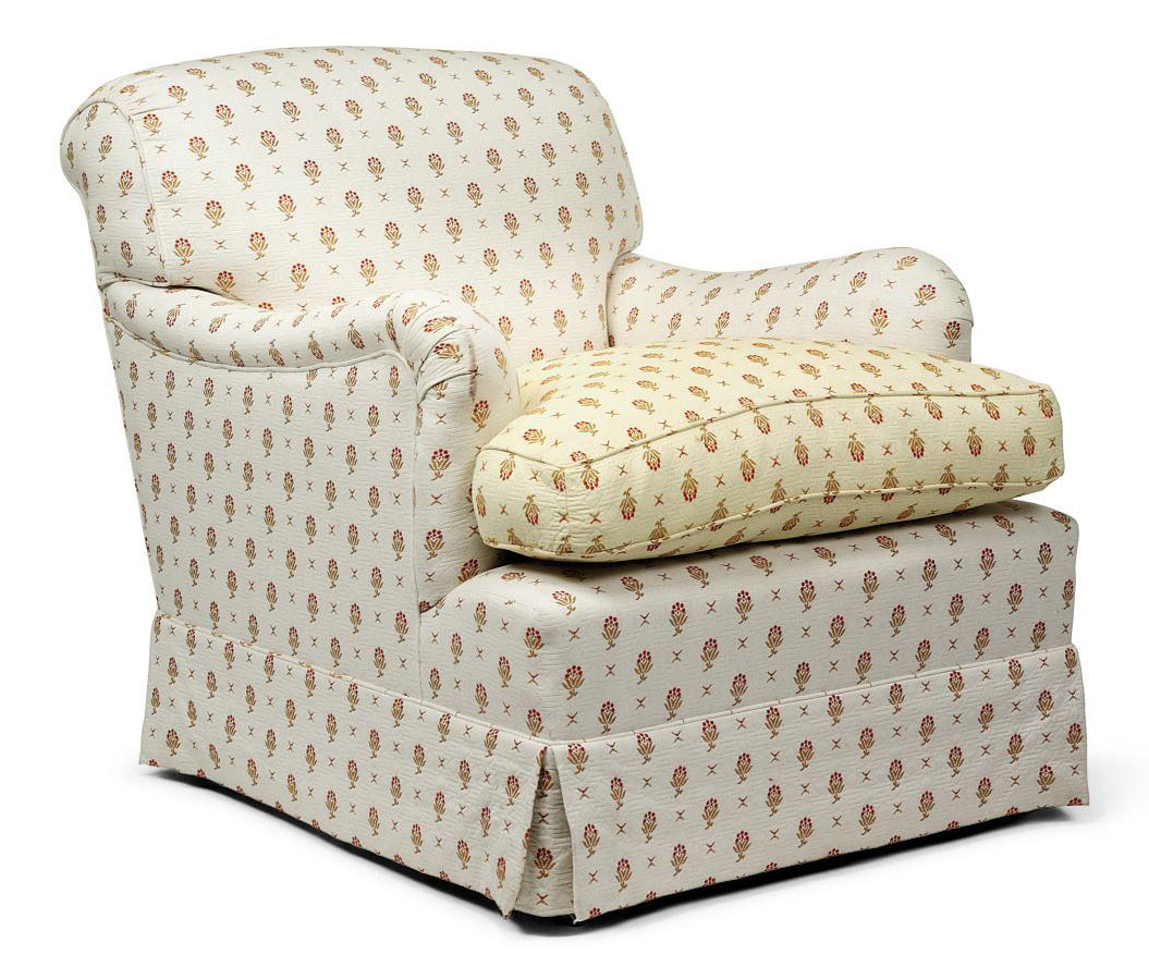 AN ENGLISH EASY ARMCHAIR