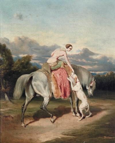 Follower of Alfred De Dreux