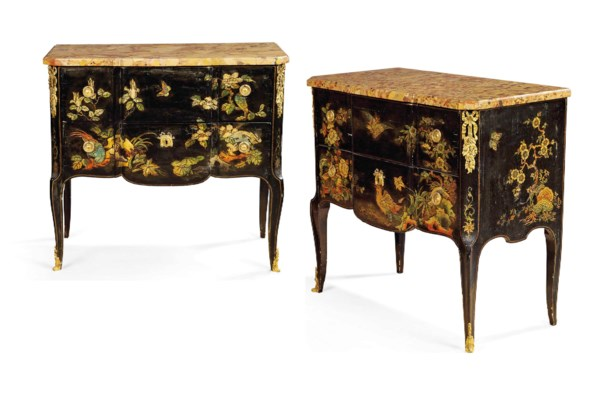 A PAIR OF LATE LOUIS XV-STYLE