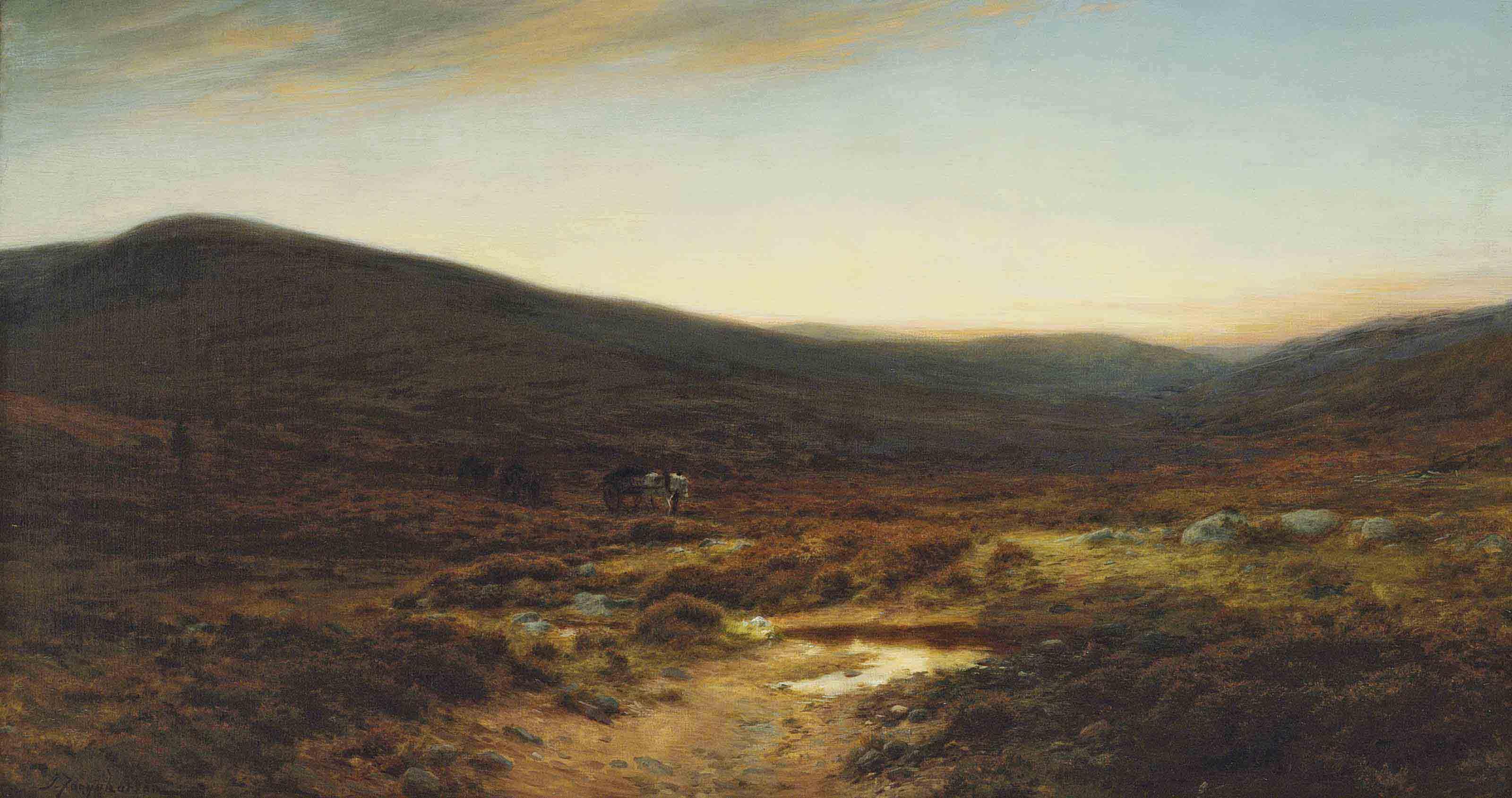 Across the moore, Birse