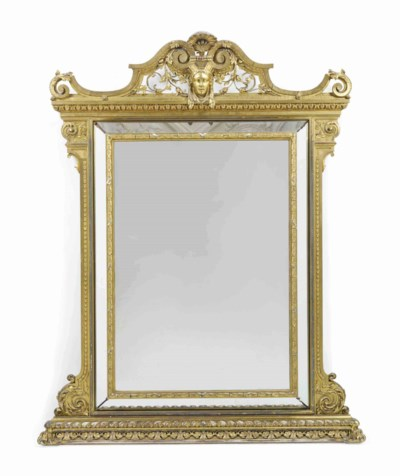 A REGENCE-STYLE GILTWOOD AND G