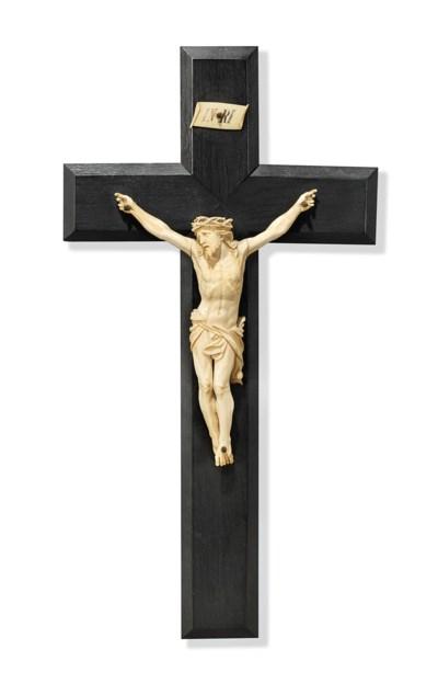 AN IVORY CORPUS CHRISTI