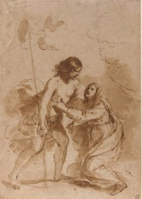 The Resurrected Christ appearing to the Virgin