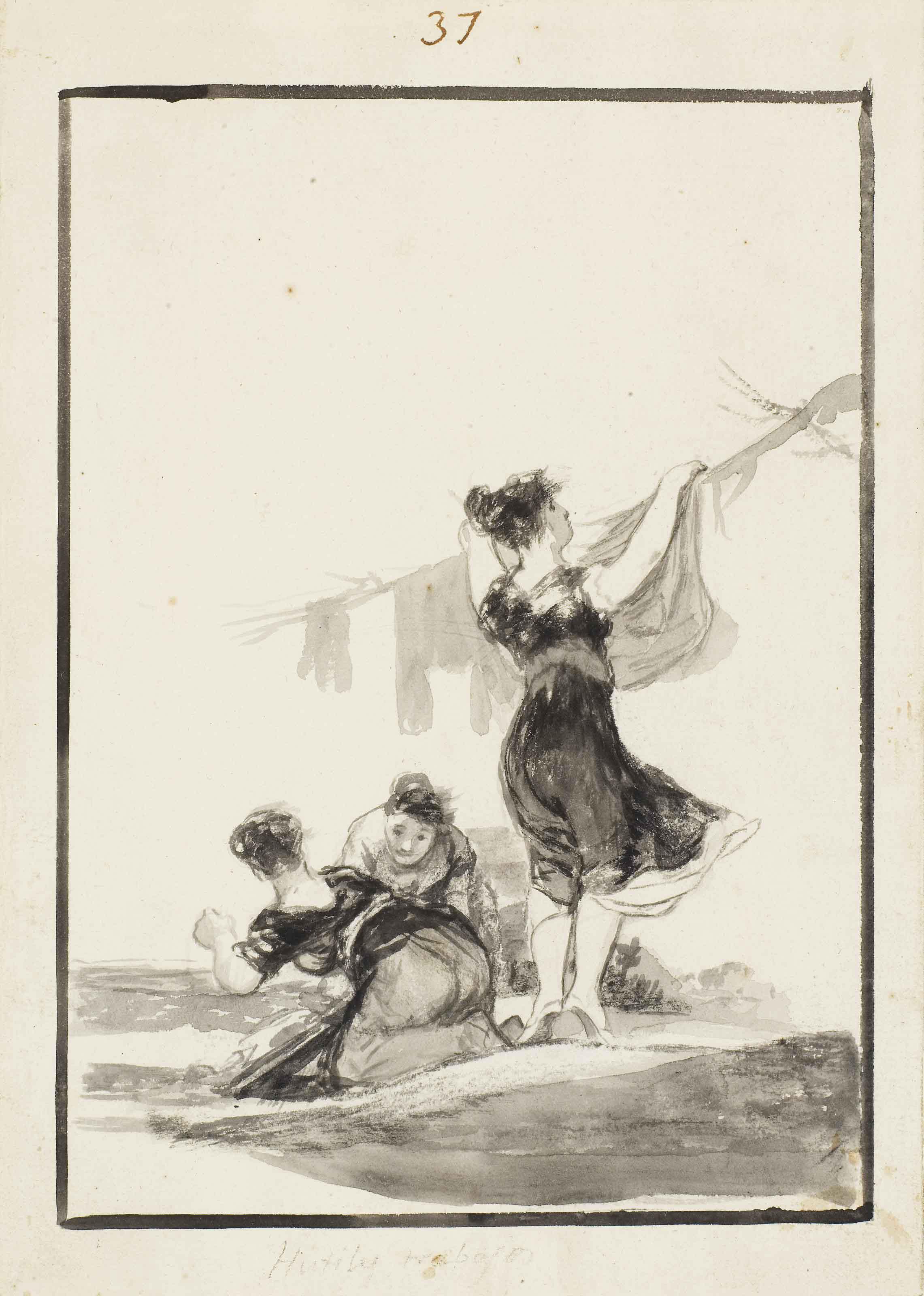 Francisco Jose de Goya y Lucie