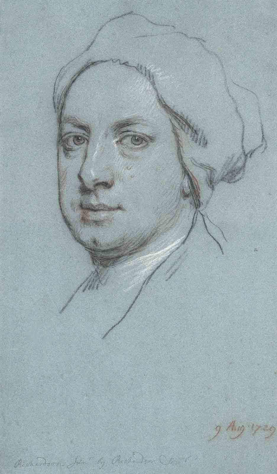 Portrait of Jonathan Richardson, Junior (1694-1771), the artist's son