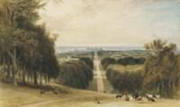 The Long Walk, Windsor Great Park, the Castle beyond