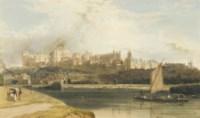 Windsor Castle from the Brocas Meadow