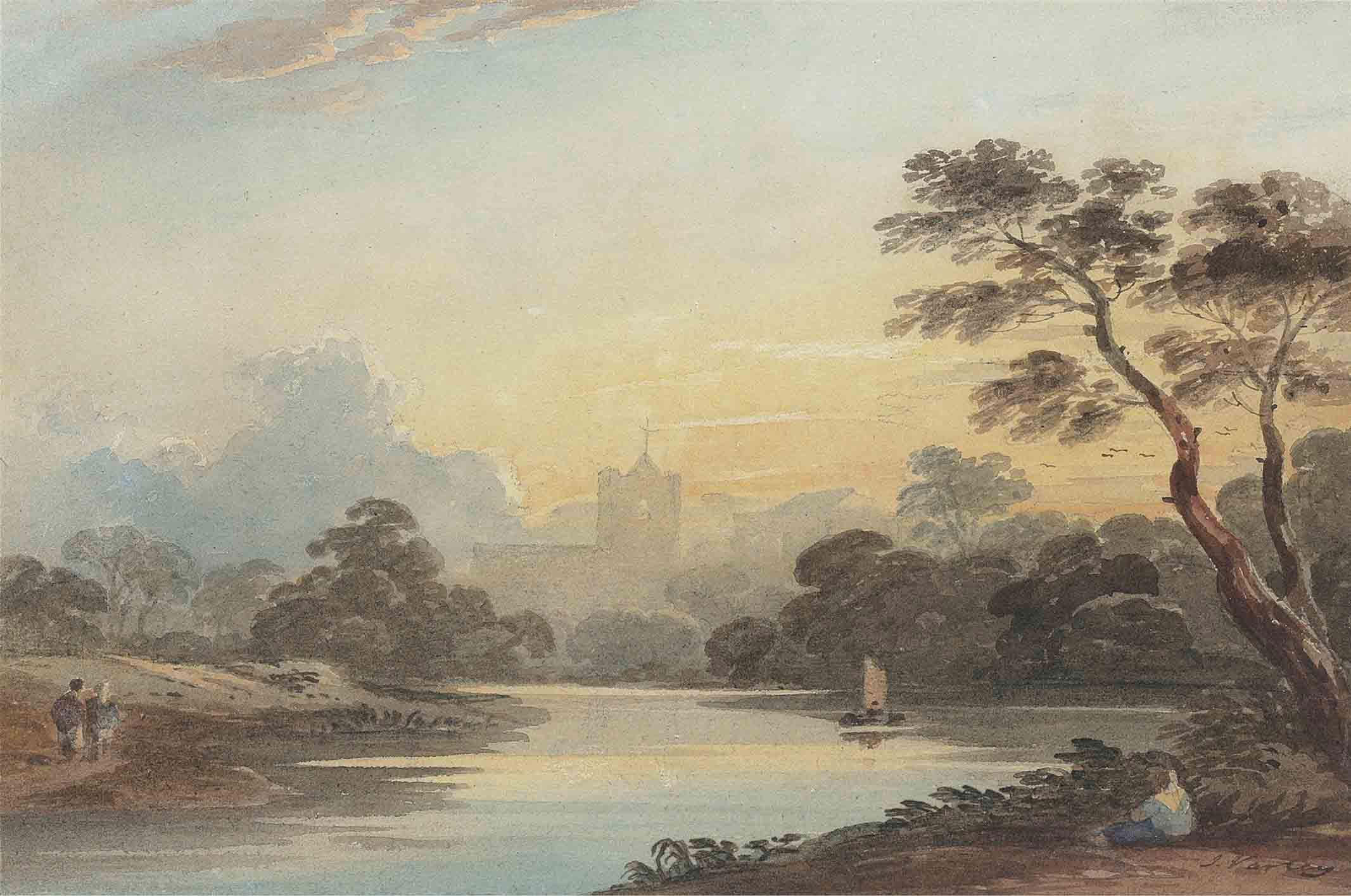 John Varley, O.W.S. (London 17