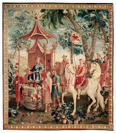 A LOUIS XIV BEAUVAIS CHINOISER