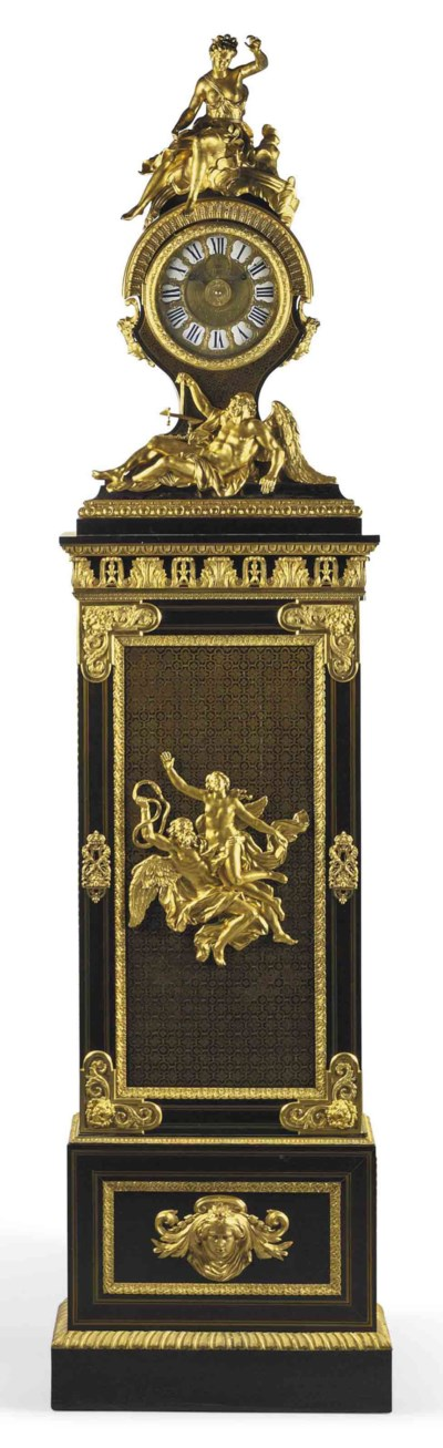 A LOUIS XVI ORMOLU-MOUNTED EBO