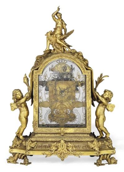 A LARGE LOUIS XIV ORMOLU STRIK