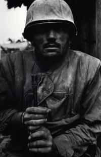 Shell-shocked Marine, Vietnam, Hue, 1968