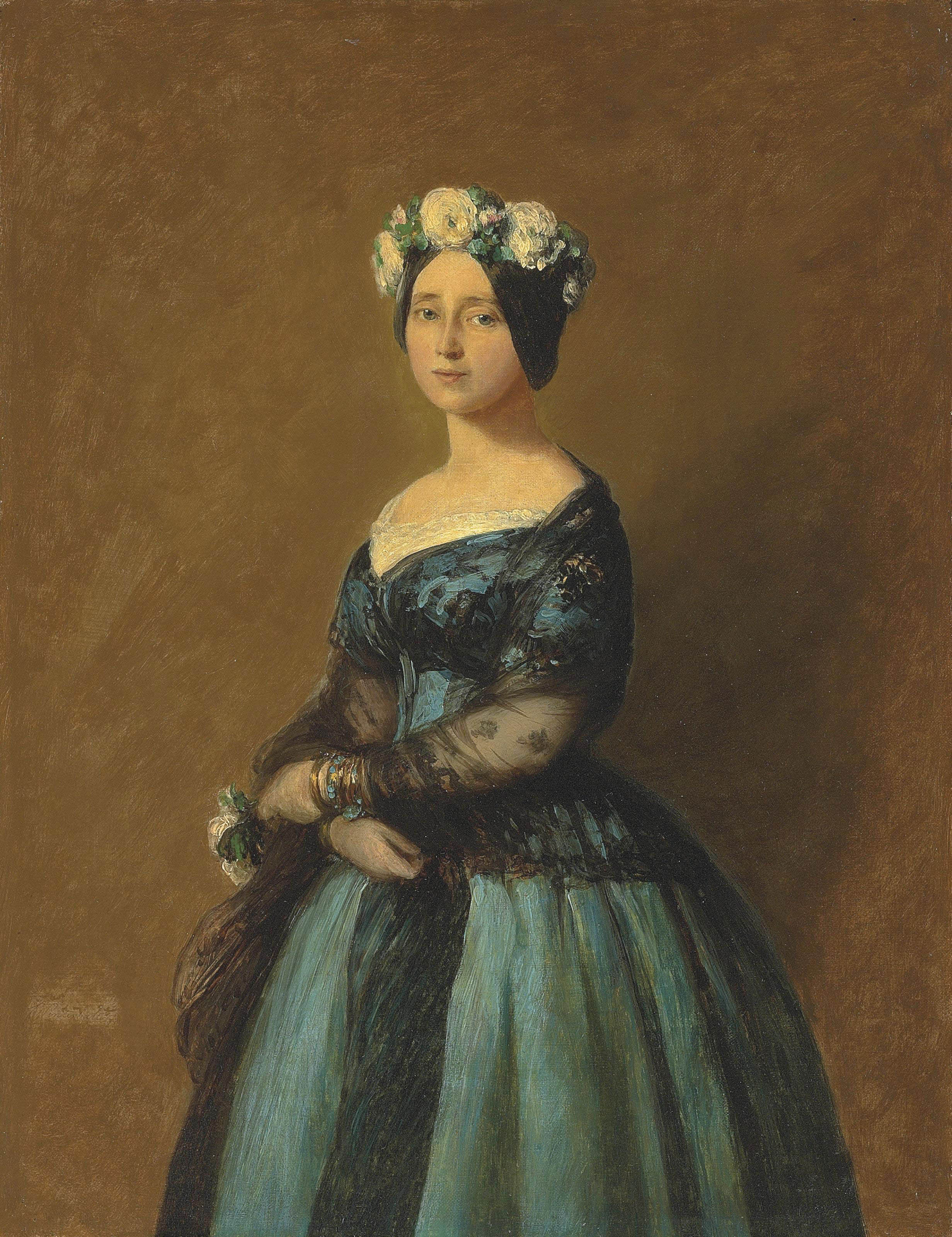 Portrait of Augusta, Princess of Prussia