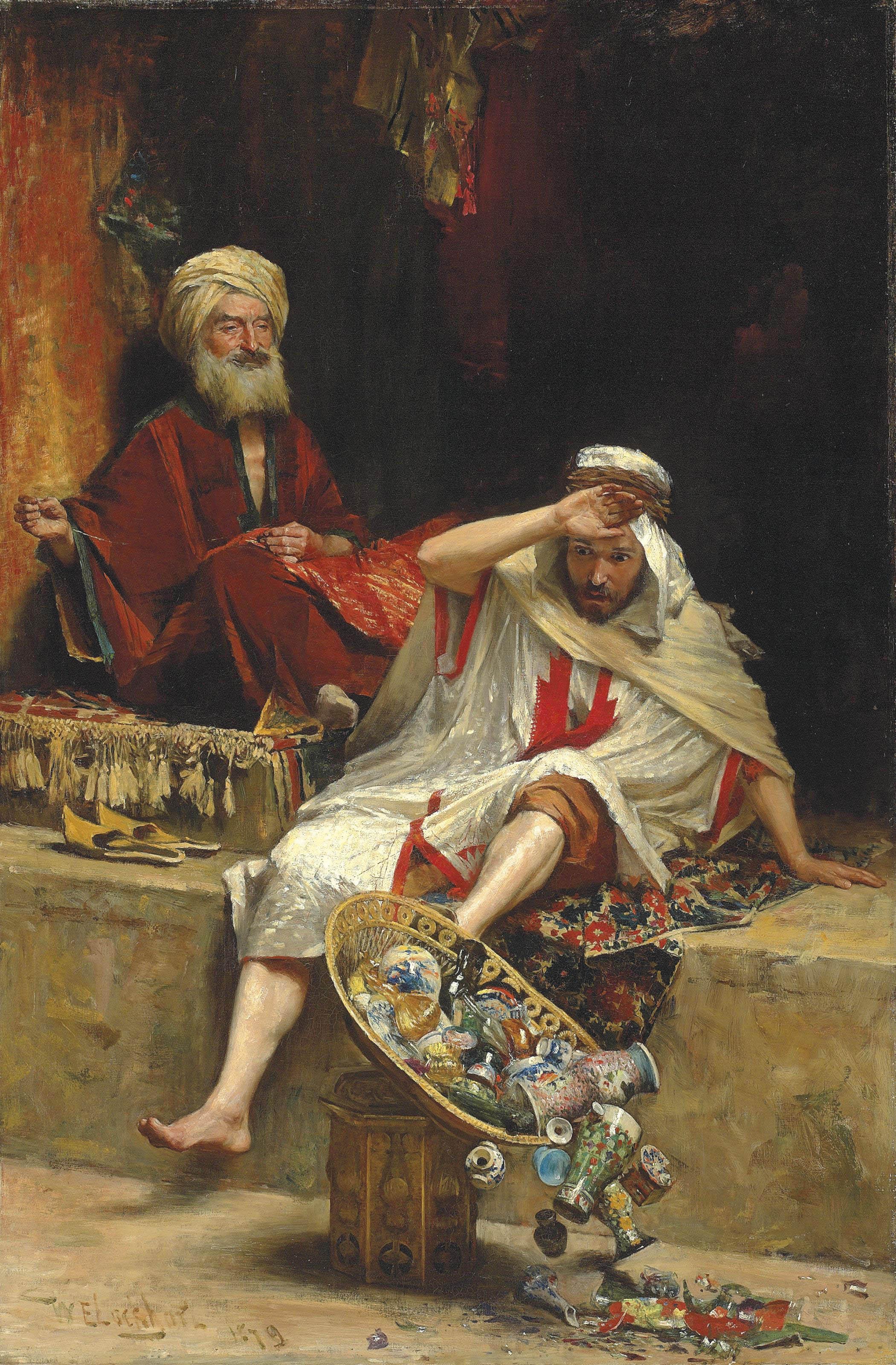Alnaschar's Fortune, Arabian Nights