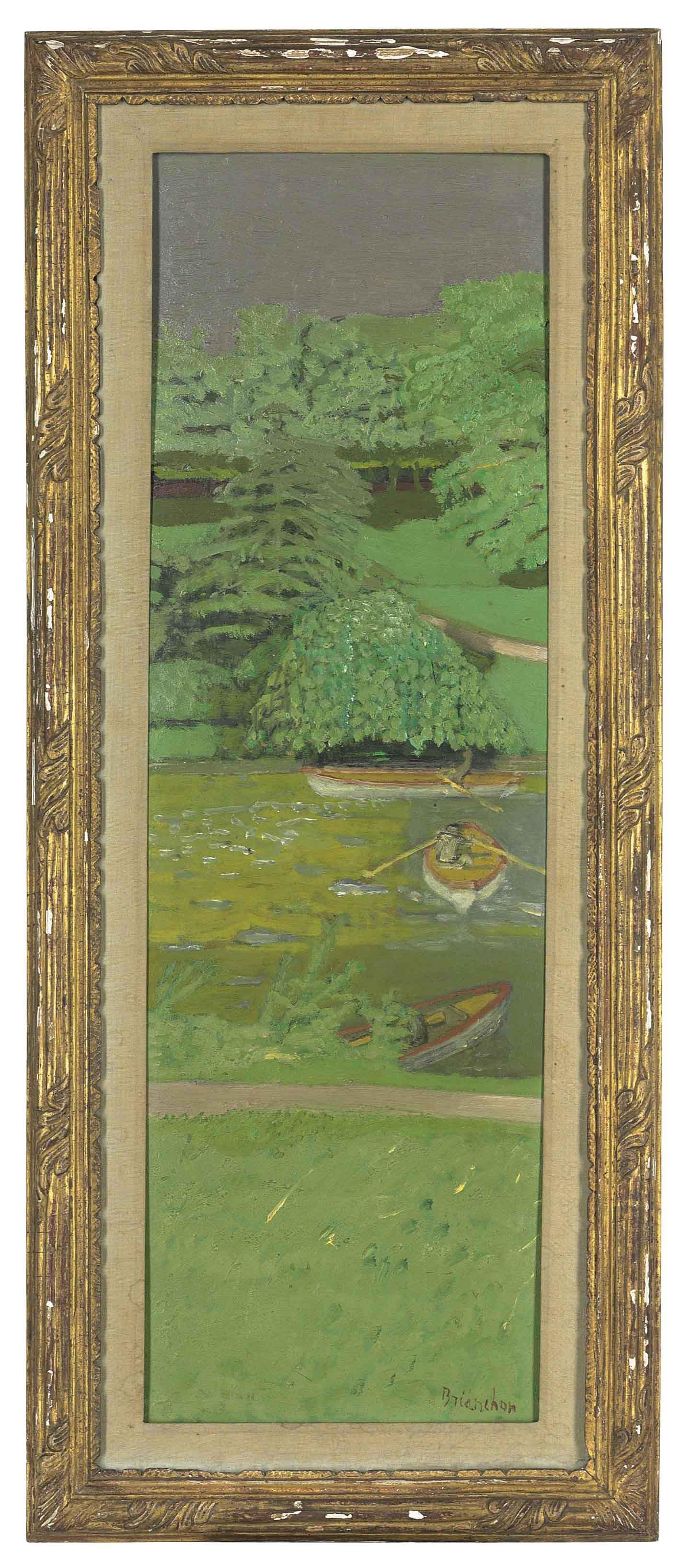 Canotage au bois de Boulogne