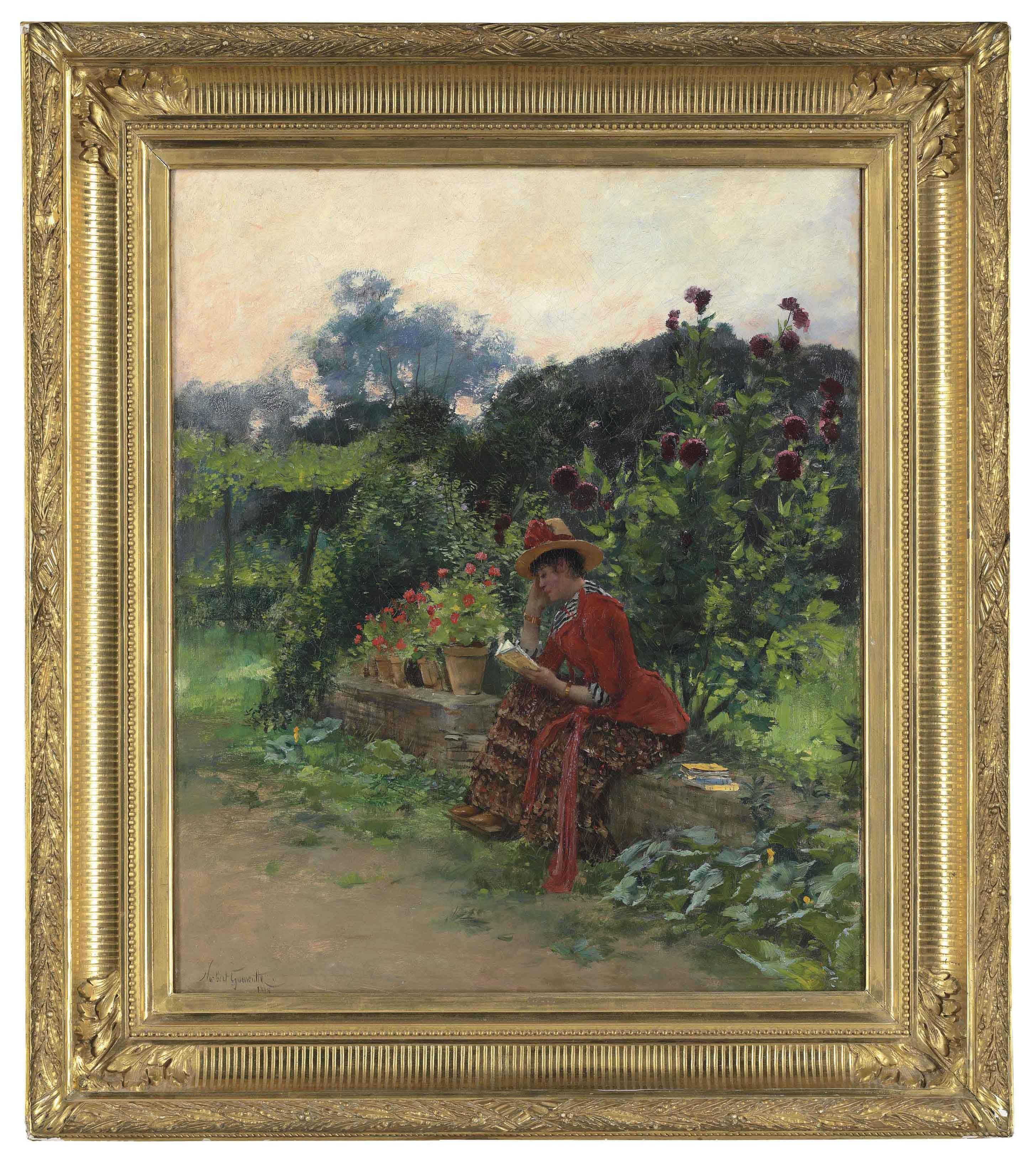 La lecture au jardin