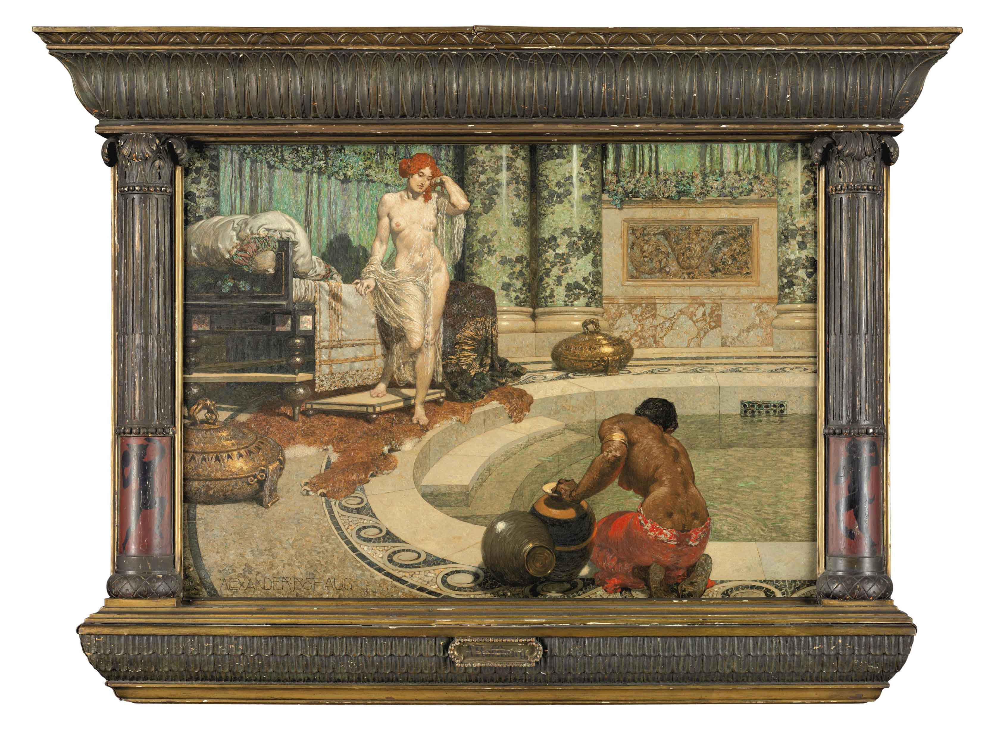 Römische Badeszene II