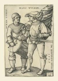 The Standard Bearer and Drummer (B. 199; P., Holl. 202)
