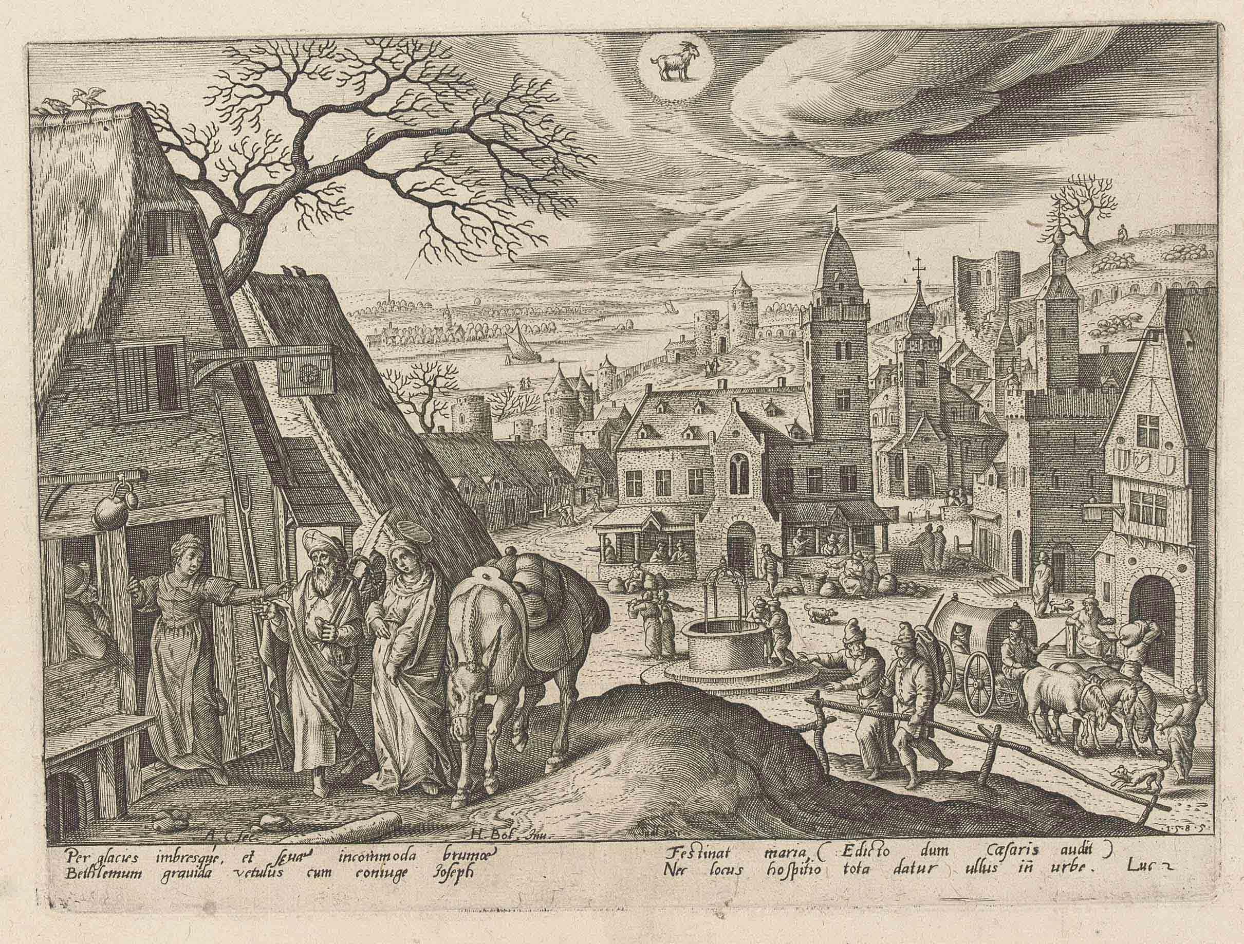 Hans Bol (1534-1593) after Adr