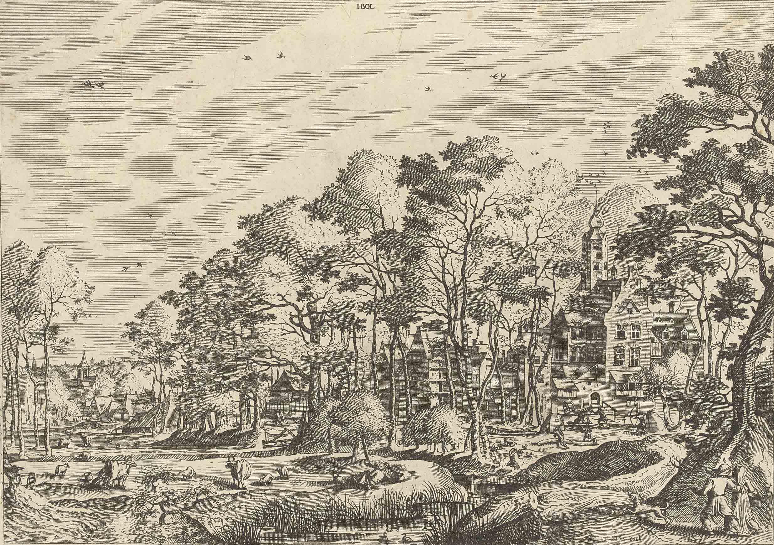 Hieronymus Cock (1510-1570) af
