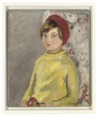 The girl in the red beret