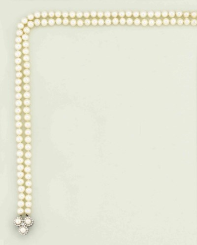 A two-row cultured pearl and d