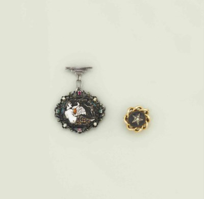 Two 19th century brooches