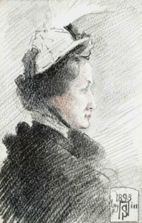 Portrait of Baroness Burdett Coutts