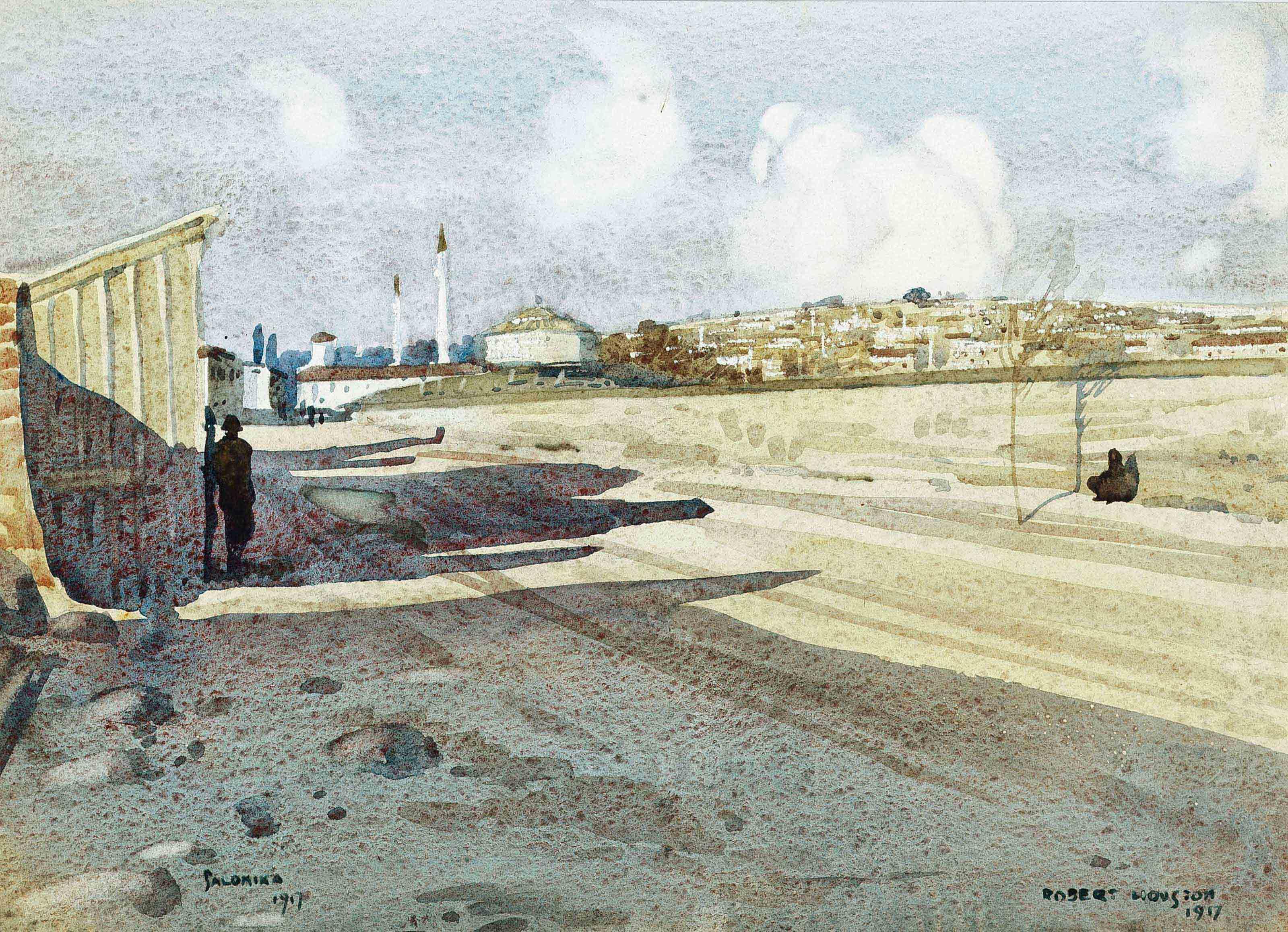 Salonika, Greece, 1917