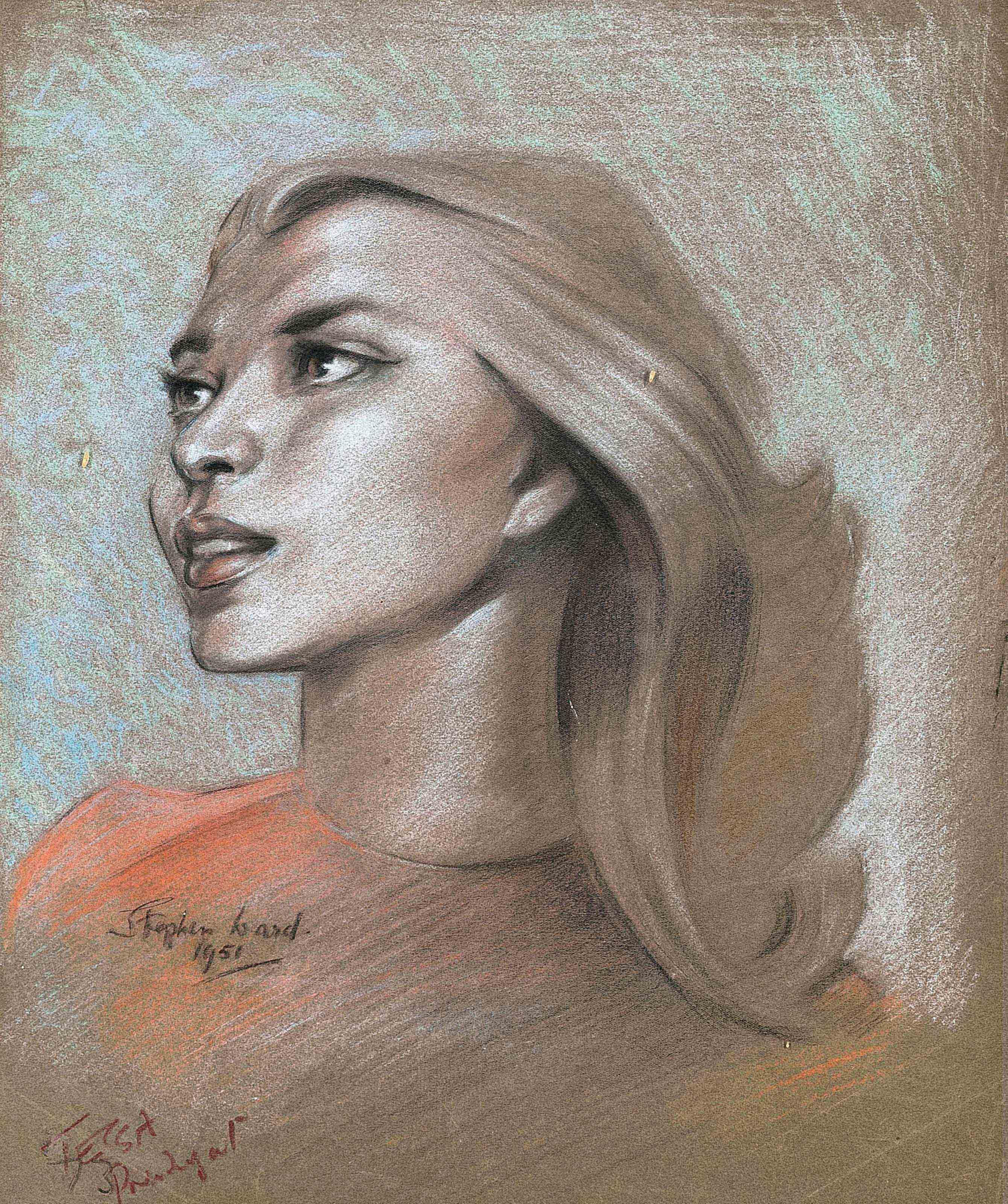Portrait of Miss Tessa Prendagast