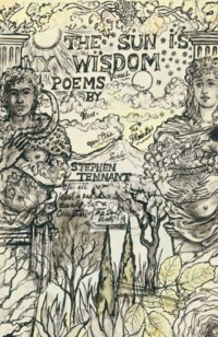 Front cover design for 'The Sun is My Wisdom', a collection of poems by the artist