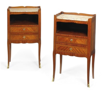 A PAIR OF FRENCH KINGWOOD CROS