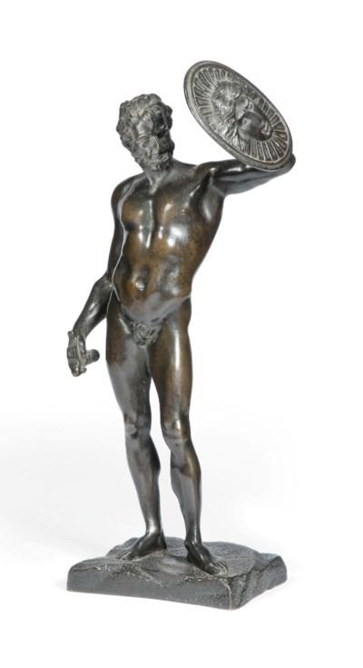 AN ITALIAN BRONZE MODEL OF MAR