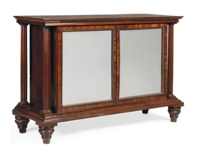 A NORTH EUROPEAN MAHOGANY SIDE