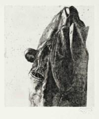 Samuel Beckett, Au loin un oiseau, The Double Elephant Press, Ltd., New York, 1973