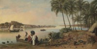 River at Bombay