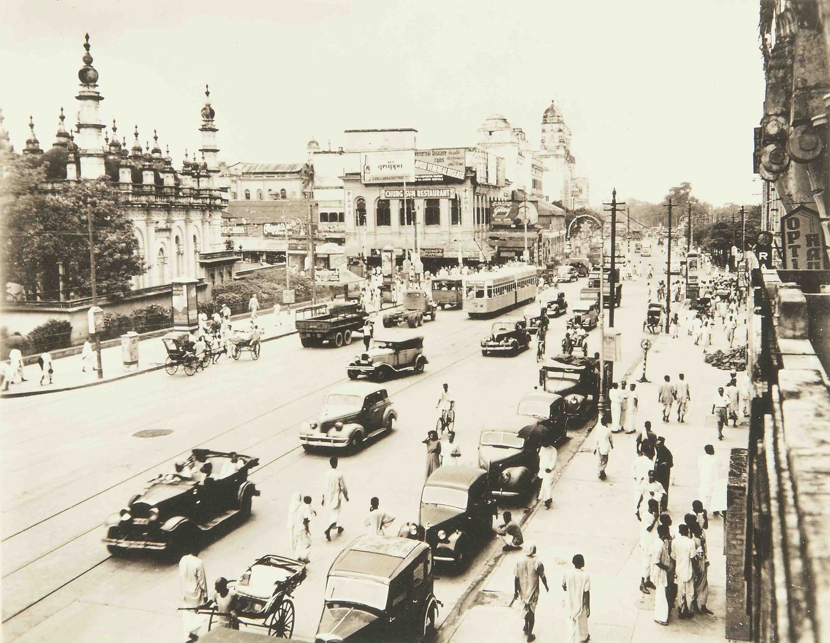A Yank's Memories of Calcutta