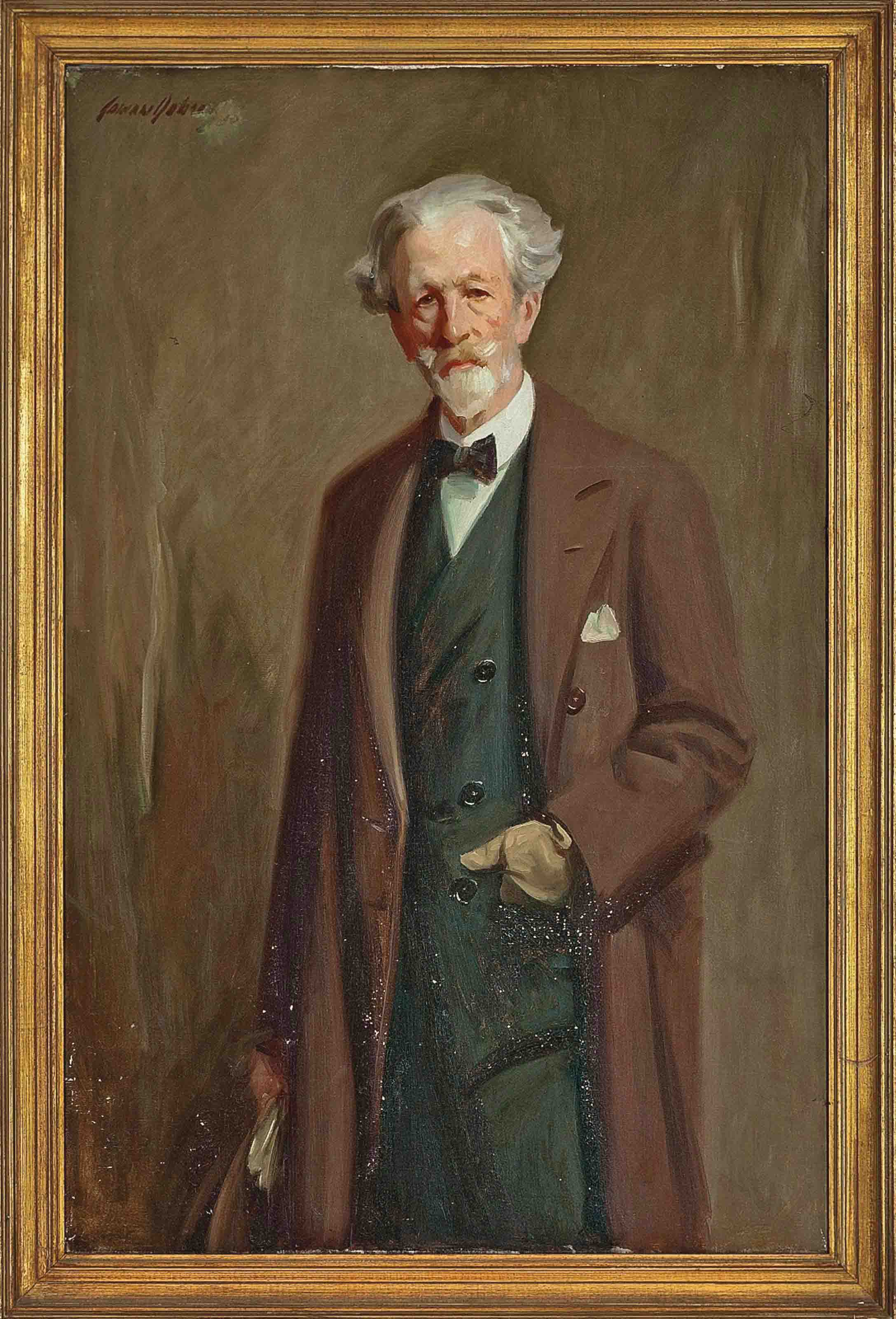 Portrait of Robert Bontine Cunninghame Graham (1852-1936)